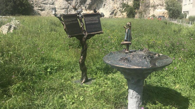 Un premier prototype de station en bronze a été présenté ce vendredi, donnant la tonalité de ce que sera le parc L'Arbre musicien.