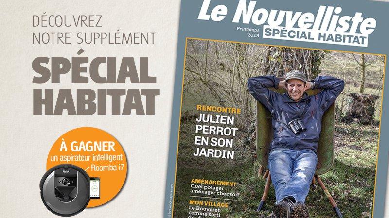 """Notre magazine """"Spécial Habitat"""" vous offre une vie de château"""