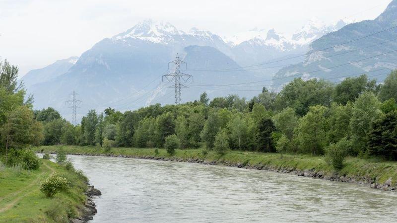 Troisième Correction du Rhône: un concours international lancé pour étudier l'aménagement des rives du fleuve en Valais