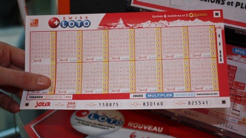 Swiss Loto: deux joueurs gagnent 500'000francs