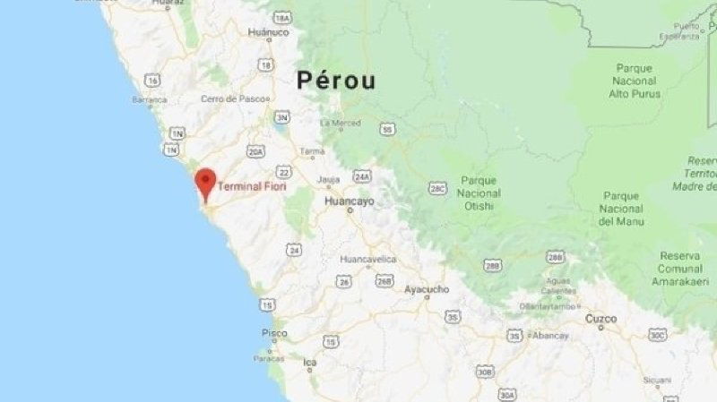 L'événement a eu lieu à la gare de Lima au Pérou