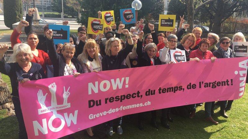 Unia Valais soutient la grève des femmes