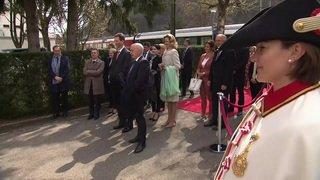 Visite d'Etat du couple princier du Liechtenstein en Suisse