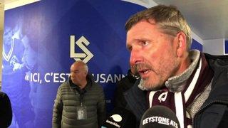Football: la neige ne freine pas la marche de Servette vers la Super League