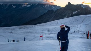 Dans l'objectif du skieur d'Hérémence Loïc Meillard