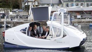 Le bateau-taxi volant de l'entreprise Seabubbles sera soutenu par la Suisse
