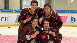Les hockeyeurs valaisans en juniors élites A: «Trois titres, c'est assez exceptionnel…»