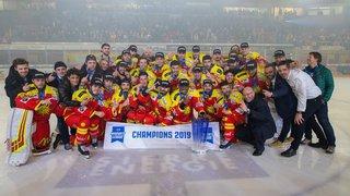 Hockey: le HC Sierre est promu en Swiss League au terme des penaltys et d'un suspense fou