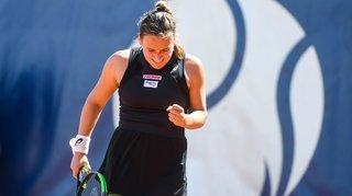 Tennis: Ylena In-Albon battue au premier tour du tournoi de Lugano et retenue pour la FedCup.