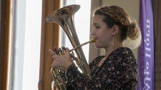 Musique de cuivres: le Swiss Alto Horn Festival de Saint-Maurice couronne Anne Barras