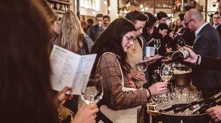 A Londres pour vendre le Valais du vin