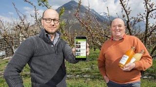 La première application suisse dédiée à la vente directe développée à Martigny