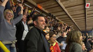 Hockey sur glace: la finalissima entre le HC Sierre et le HCV Martigny, un tourbillon émotionnel pour les fans