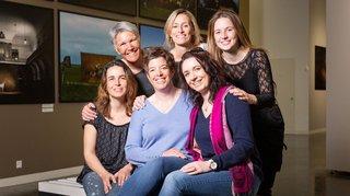 Clap de fin pour le film «Woman, les Valaisannes» à la fondation Opale