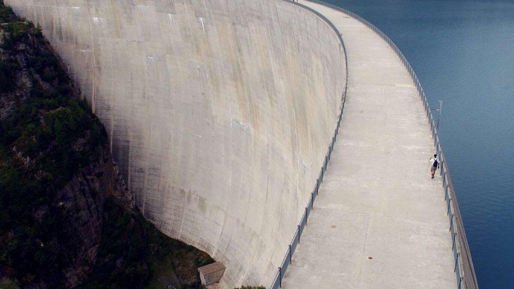 Les centrales hydroélectriques ont fourni 55,4% de la production d'électricité en Suisse l'en dernier, ici le barrage d'Emosson.