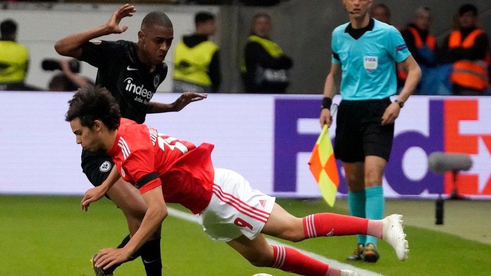 Gelson Fernandes et Francfort ont fait chuter le Benfica Lisbonne de Joao Felix en quart de finale de l'Europa League.