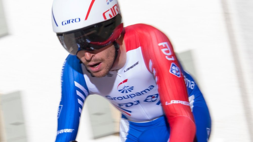 Sébastien Reichenbach a concédé 1'25 à Primoz Roglic lors du chrono de Genève.