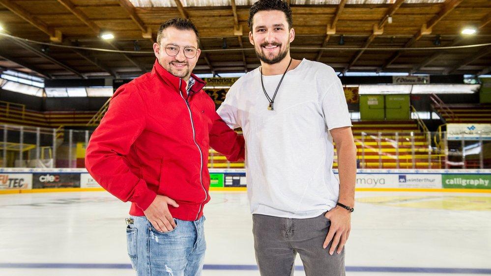 Hockey: ils ont vu grandir Vincent Praplan et Nico Hischier