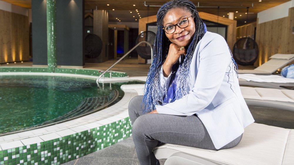 Pour Rachel Bichet, directrice des bains d'Ovronnaz, le nouveau spa marque un tournant. La société entend poursuivre ses investissements et améliorer le standing de son établissement.