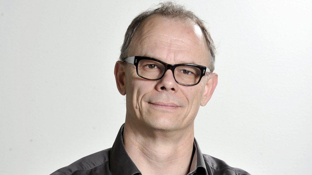 Gilles Berreau, journaliste au «Nouvelliste». Sabine Papilloud/Le Nouvelliste