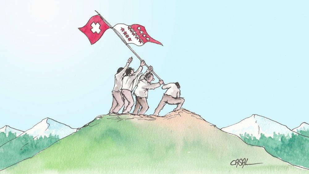 Le plan directeur cantonal approuvé par le Conseil fédéral: la fin des dures négociations entre l'Etat du Valais et la Confédération.