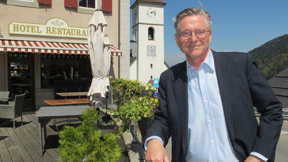 Per-Henrik Mansson, du Communal, représente les hôteliers investis dans ce projet collaboratif. Comme les autres, il a dû exposer ses difficultés et ses réussites. Une honnêteté essentielle pour avancer ensemble.