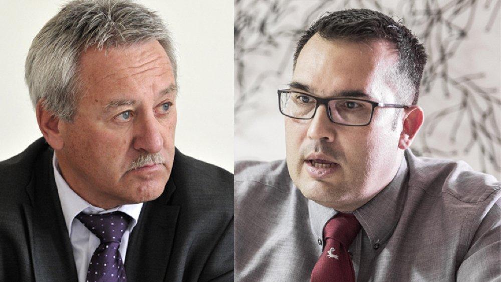 L'affaire a tourné au bras-de-fer entre le préposé à la protection des données, Sébastien Fanti, et le chef du service parlementaire, Claude Bumann.