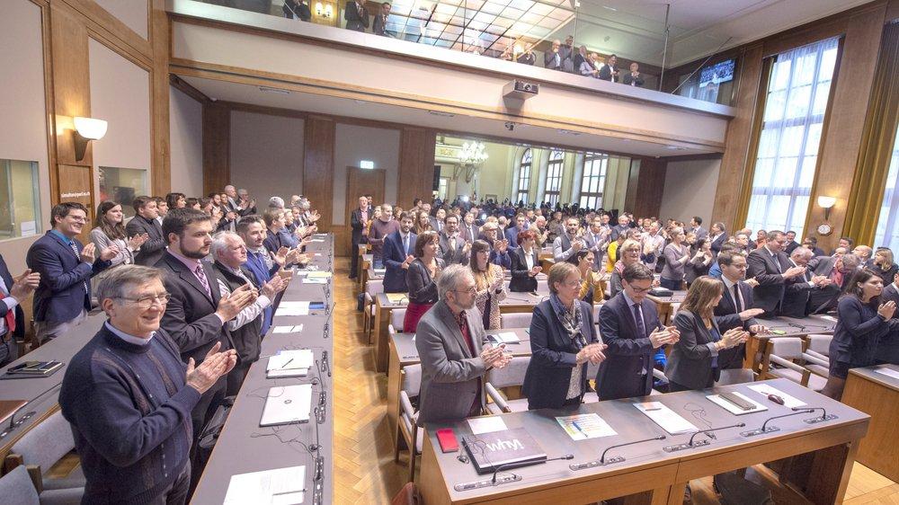 Les membres de la constituante ont siégé pour la première fois le 17 décembre 2018.