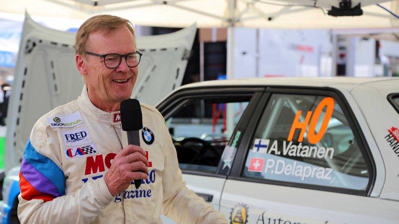 Après un passage remarqué en 2018, l'ancien pilote du championnat du monde des rallyes Ari Vatanen est de retour dans le Chablais.