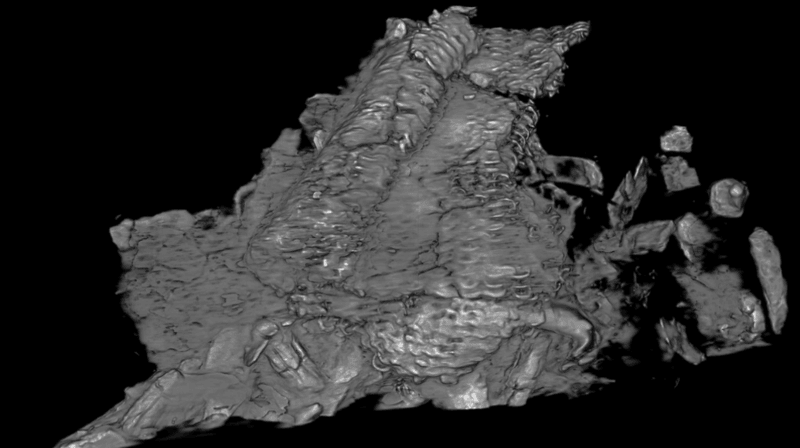 Découverte en 2012 sur le site archéologique du Mormont (Vaud), la cotte de mailles étudiée par l'EPFL est un exemplaire rare.