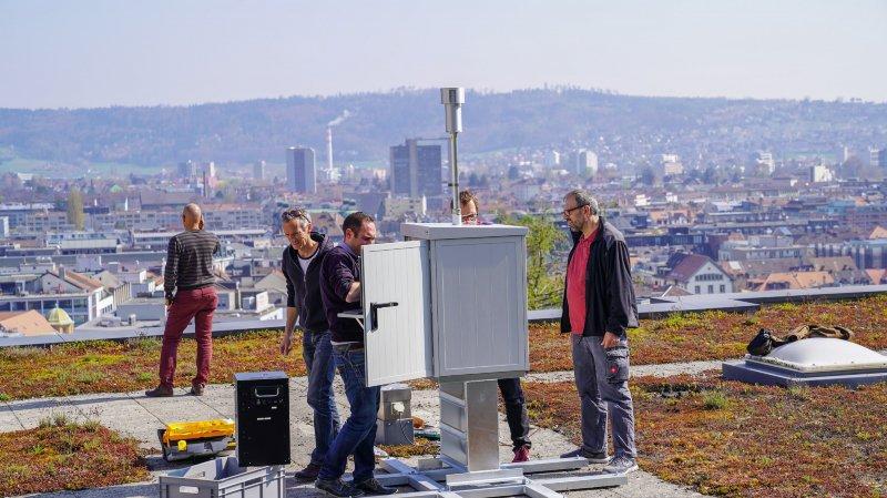 Allergies: Poleno permet de mesurer en temps réel la concentration de pollen dans l'air