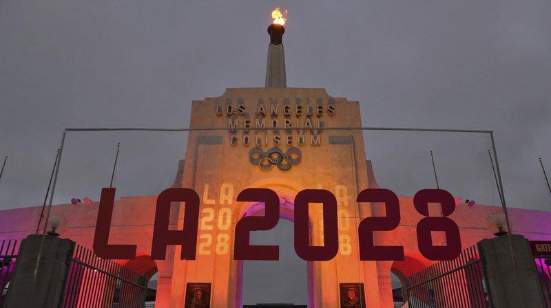 Voir briller la flamme olympique dans le ciel de Los Angeles coûtera près de 7 milliards.