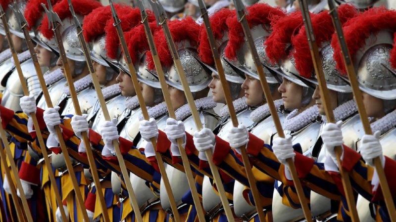 Vingt-trois nouveaux gardes suisses prêtent serment au Vatican ce lundi. (illustration)