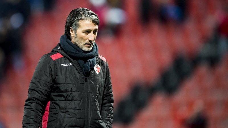 Murat Yakin n'est plus l'entraîneur du FC Sion.