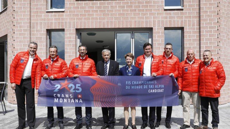 Crans-Montana/Valais avait officiellement déposé sa candidature au siège de la FIS le 9 avril dernier.