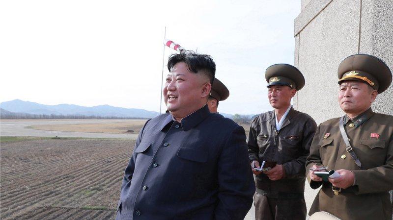 Le dirigeant nord-coréen a lui-même supervisé le tir d'essai.