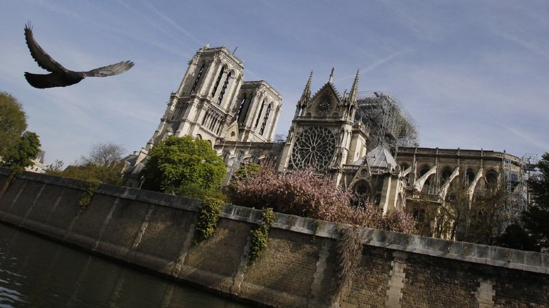 Incendie de Notre-Dame de Paris: le CIO offre un demi-million d'euros pour la reconstruction