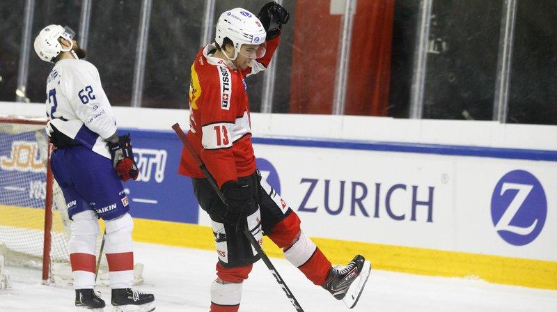 Match de hockey amical Suisse – France (6-0): Nico Hischier fête sa «première» avec un triplé