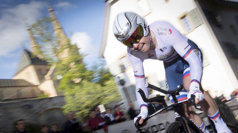 Cyclisme - Tour de Romandie: le Slovène Jan Tratnik remporte le prologue