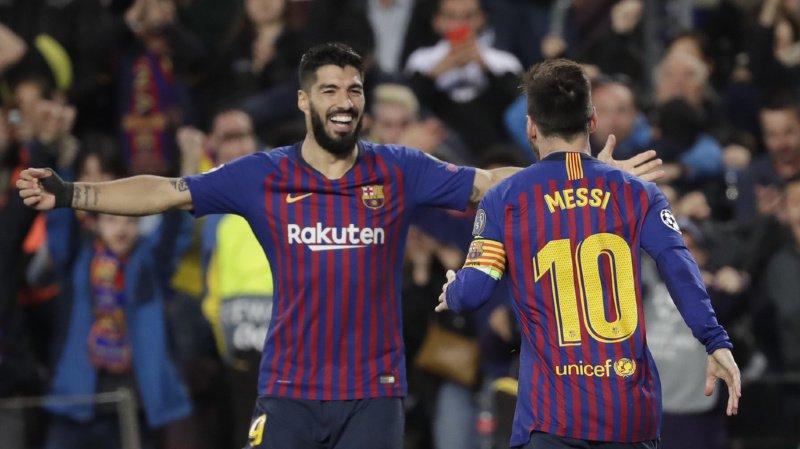Football - Ligue des champions: Barcelone bat Liverpool 3-0 au Camp Nou et met un pied en finale