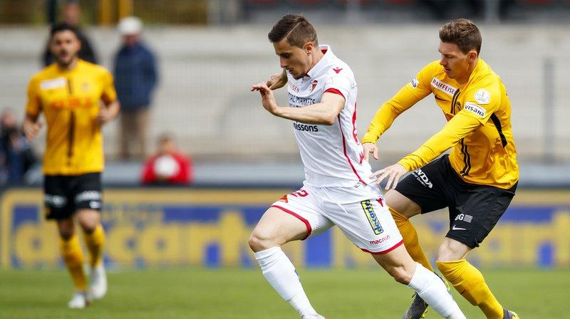 Super League: le FC Sion manque totalement son match et s'incline pour la 3ème fois consécutive