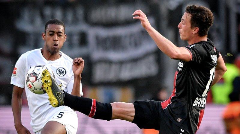 Gelson Fernandes et ses coéquipiers se sont inclinés 6-1 contre le Bayer Leverkusen.