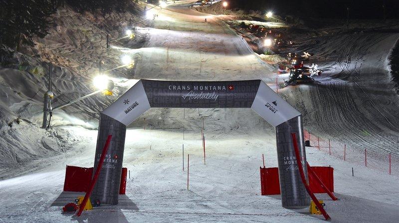 Un slalom nocturne exhibition est prévu le 15 janvier à Crans-Montana.
