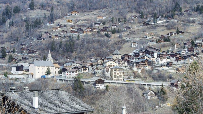 La route cantonale entre Sierre et Vissoie partiellement sera fermée dès le 6 mai