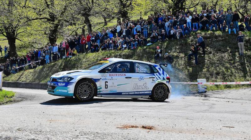 Sébastien Carron attendu sur le rallye du Chablais