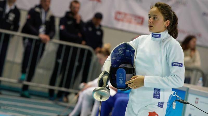 Angeline Favre a pris une belle deuxième place en Hongrie.