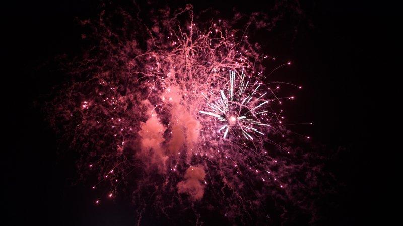 Sion: déjà un incendie à cause de feux d'artifice