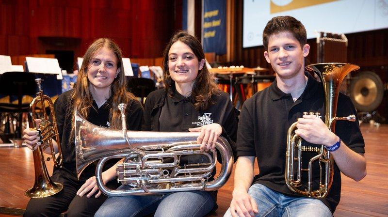 Concours européen des brass bands: la relève valaisanne est prête