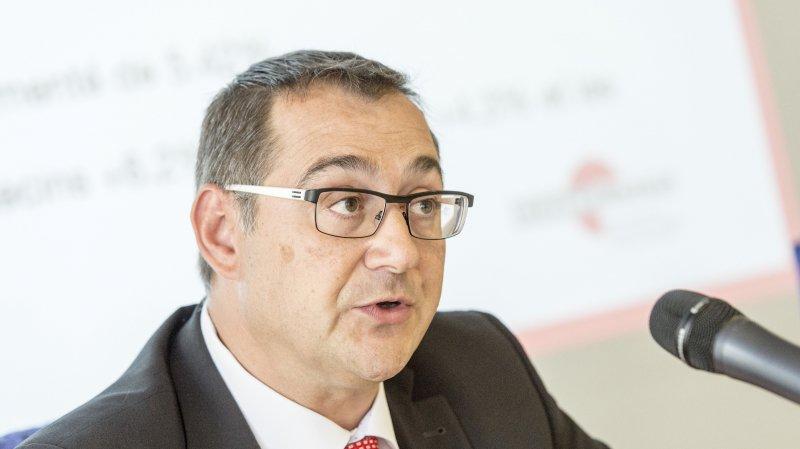 Paul Rabaglia quitte le poste de CEO du Groupe Mutuel mais pas l'entreprise.