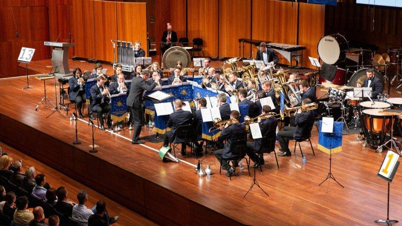 La belle série du Valaisia Brass Band a connu un coup d'arrêt à Montreux